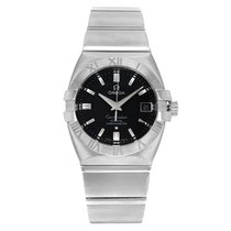 Omega Constellation Double Eagle Steel 39mm Black