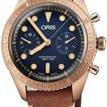 Oris Carl Brashear Bronze 43mm Blue United States of America, California, Moorpark