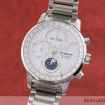 Eterna Steel 42mm Automatic 2949.41 pre-owned