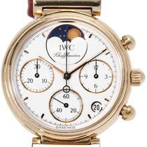 IWC 3735 Yellow gold 1991 Da Vinci Chronograph 28mm pre-owned