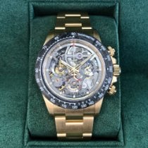 Rolex Daytona Or jaune 40mm Transparent