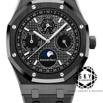 Audemars Piguet Royal Oak Perpetual Calendar Ceramic 41mm Black No numerals United States of America, New York, NEW YORK