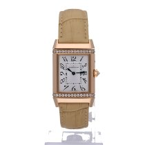 Jaeger-LeCoultre Reverso Duetto Duo Rose gold 20mm