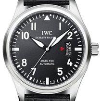 IWC Pilot Mark Stal 41mm Czarny Arabskie Polska, Krakow