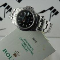 Rolex Explorer II Stahl 40mm Schwarz Keine Ziffern Schweiz, Roveredo