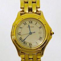 Cartier Cougar Oro amarillo Romanos