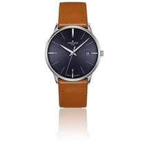 Junghans Steel 38.4mm Quartz Meister MEGA new