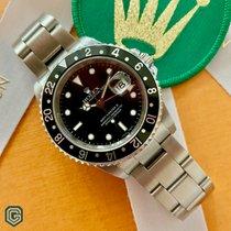 Rolex 16710 Сталь 2005 GMT-Master II 40mm подержанные