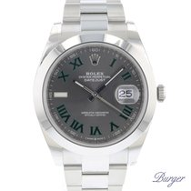 Rolex Datejust Otel 41mm Gri