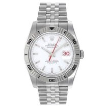 Rolex Turn-O-Graph Datejust Men's Stainless Steel Watch...