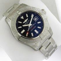 Breitling Avenger II Seawolf a1733110 Stainless Steel Bracelet...