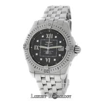 Breitling Mint Ladies  Windrider Cockpit A71356 Steel Diamond...