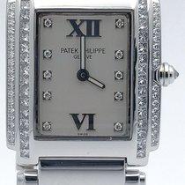 Patek Philippe Twenty-4 Ladies Quartz Watch 4910-g/001 18k...