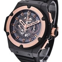 Hublot 701.CO.0180.RX King Power Unico in Black Ceramic with...