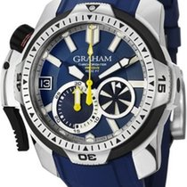 Graham Chronofighter Prodive Stainless Steel Men`s Watch