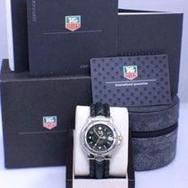 TAG Heuer 6000 SS & 18k Yellow Gold Chronometer Watch Box &...
