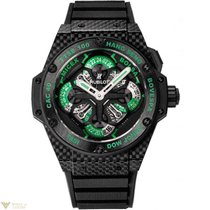 Hublot King Power Unico King Cash Ceramic, Carbon & Rubber...