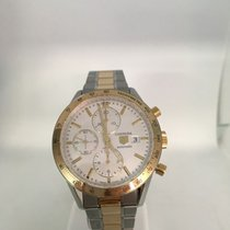 TAG Heuer - Carrera Automatic Chrono 18ct Gold/Steel -...
