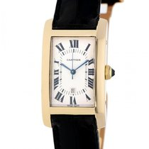 Cartier Tank Americaine Yellow Gold