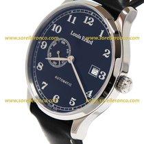 Louis Erard Steel 40mm Automatic 66226AA22 Orologio Louis Erard 1931 Automatico elegante new