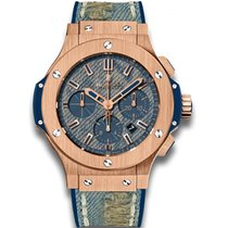 Hublot Big Bang Jeans Rose gold 44mm Blue United States of America, Pennsylvania, Holland