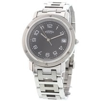 Hermès Clipper Stainless Steel Watch CL6.710