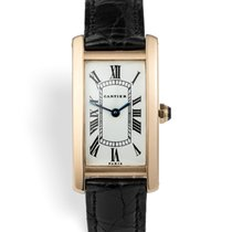 Cartier VIntage Tank Cintrée - Yellow Gold Paris Dial