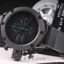U-Boat Italo Fontana Classico Titan Black Carbon Chronograph...