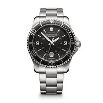 Victorinox Swiss Army Maverick Stal 43mm Czarny Arabskie