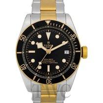 튜더 블랙 베이 S&G 신규 2020 자동 시계 및 정품 박스와 서류 원본 79733N-0008