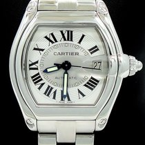 Cartier Roadster Large Size Stainless Steel Automatic Box &...