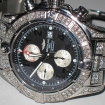 Breitling Super Avenger Steel 48mm Black Arabic numerals United States of America, New York, NEW YORK CITY