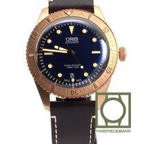 Oris Carl Brashear Bronze 42mm Bleu