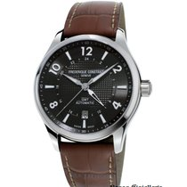 Frederique Constant Runabout Automatic Steel 42mm Black Arabic numerals