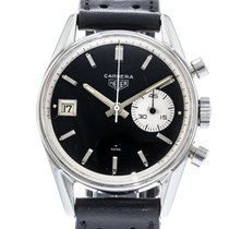 Heuer Steel 35mm Manual winding 3147N pre-owned