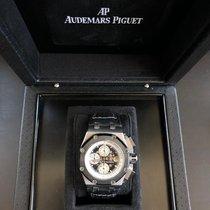 Audemars Piguet Royal Oak Offshore Chronograph Titanium 44mm Black No numerals Australia, CASTLE HILL