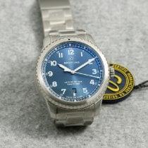 Breitling Navitimer 8 Stahl 41mm Blau Arabisch