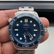 Omega 210.30.42.20.03.001 Steel 2018 Seamaster Diver 300 M 42mm pre-owned United States of America, New York, new york