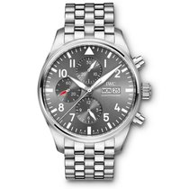 IWC IW377719 Steel Pilot Spitfire Chronograph 43mm new United States of America, Florida, Miami