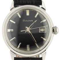 Bulova Steel 34mm Automatic pre-owned United States of America, New York, Lynbrook