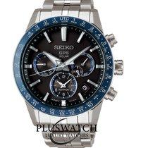 Seiko Astron GPS Solar new Quartz Chronograph Watch with original box and original papers SSH001J1