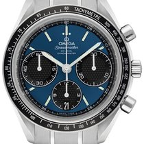 Omega Speedmaster Racing new Automatic Chronograph Watch with original box 32630405003001