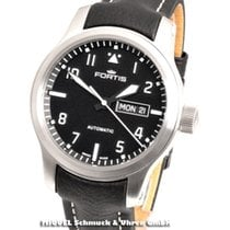 Fortis new Automatic Display Back Luminescent Hands Luminous indexes 42mm Steel Sapphire Glass