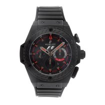 Hublot Ceramic Automatic Black No numerals 48mm pre-owned King Power