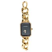 Chanel Yellow gold Quartz Chanel Black Diamond 18k Yellow Gold Première Chaîne pre-owned UAE, DUBAI