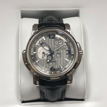 Ulysse Nardin GMT +/- Perpetual White gold 42mm Silver United States of America, California, Beverly Hills