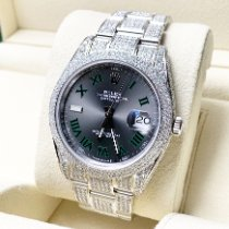Rolex Datejust Steel 41mm Grey No numerals UAE, Dubai