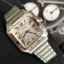 Cartier Santos (submodel) подержанные 39,8mm Cеребро Сталь