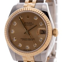 Rolex Lady-Datejust 178273 Very good Gold/Steel 31mm Automatic