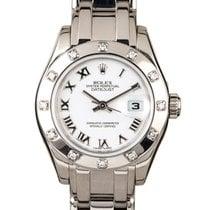 Rolex Lady-Datejust Pearlmaster 80319 2007 nouveau